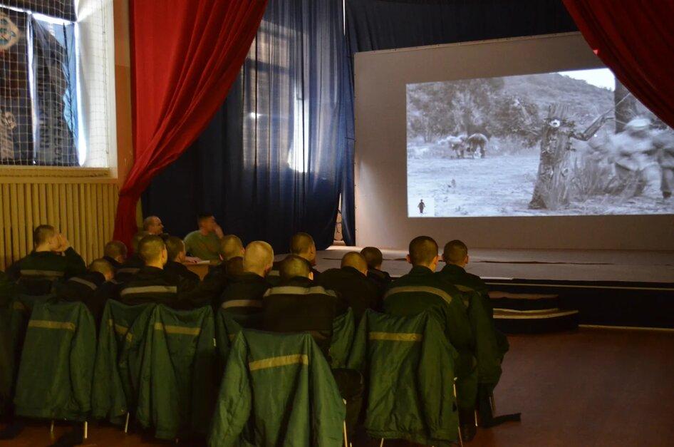 3-е заседание «Киноклуба» в Можайской ВК